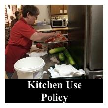 Kitchen Use Policy Nav