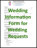 WeddingInformationFormGraphic