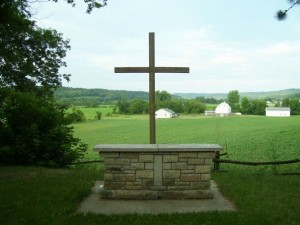 Cross at Whispering Pines Worship Area