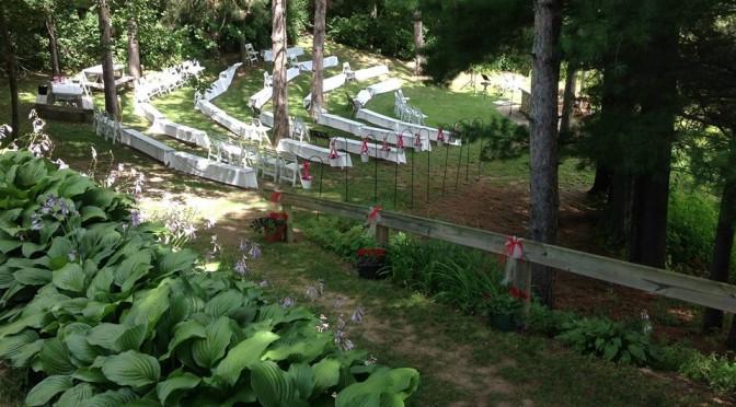 Whispering Pines Worship Area