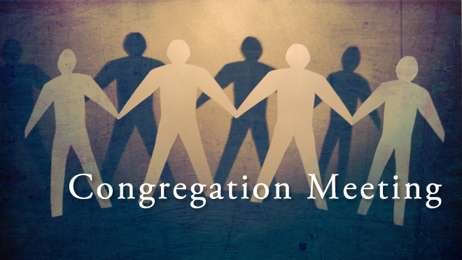 Congregational Meeting Pic