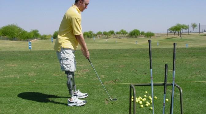 David Berling Golfing