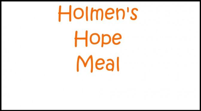 Holmen's Hope Meal