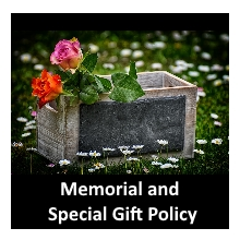 Memorial and Gift Policy